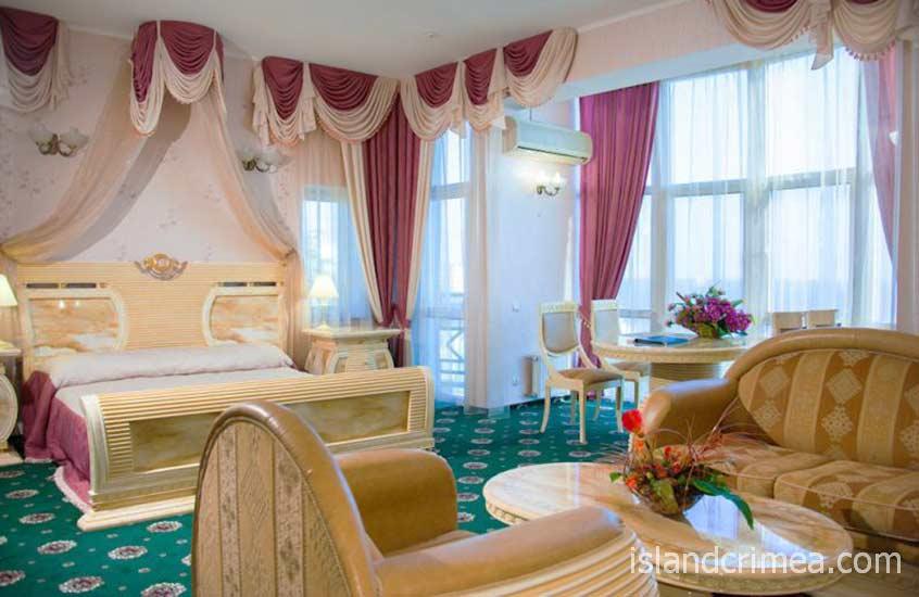 """Отель """"Тысяча и одна ночь"""", номер Suite Shahriyar"""