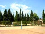 Спортивные площадки санатория Алуштинский.