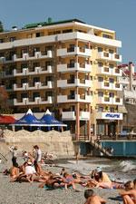 Пляж отеля Атлантик.