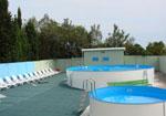 База отдыха Коралл, бассейн.