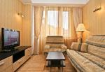ДТП имени Чехова, люкс, гостиная.