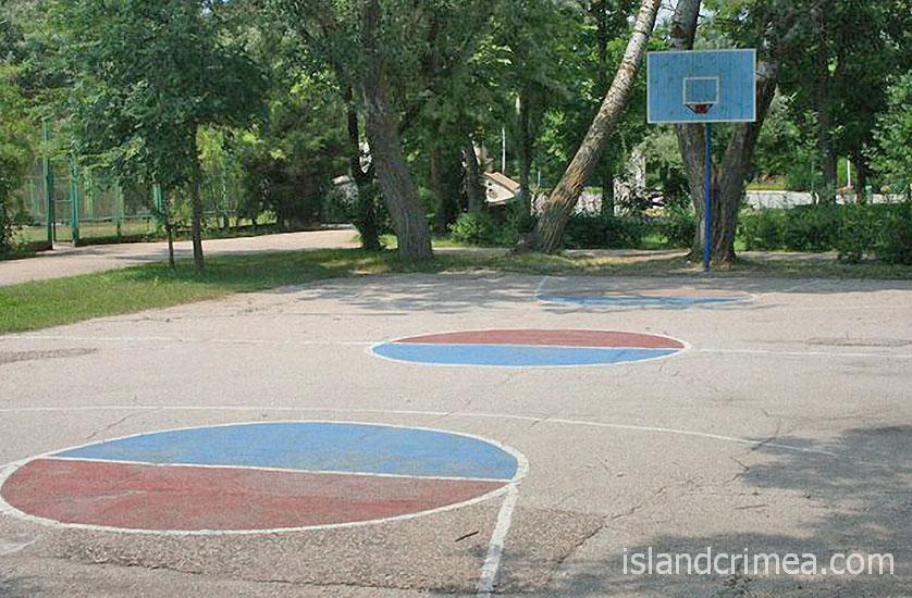 Баскетбольная площадка в ЕДКС