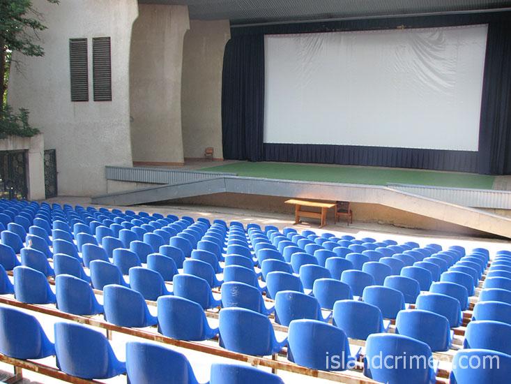 """Пансионат """"Энергетик"""", летний киноконцертный зал"""