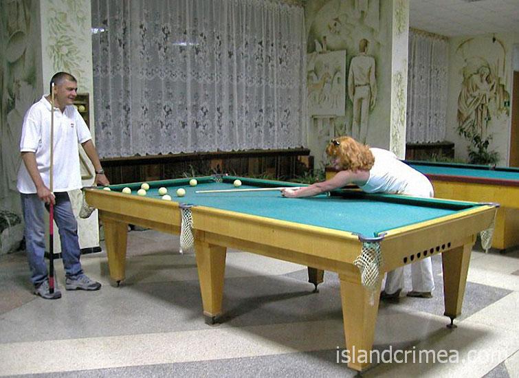 """Пансионат """"Энергетик"""", бильярд"""