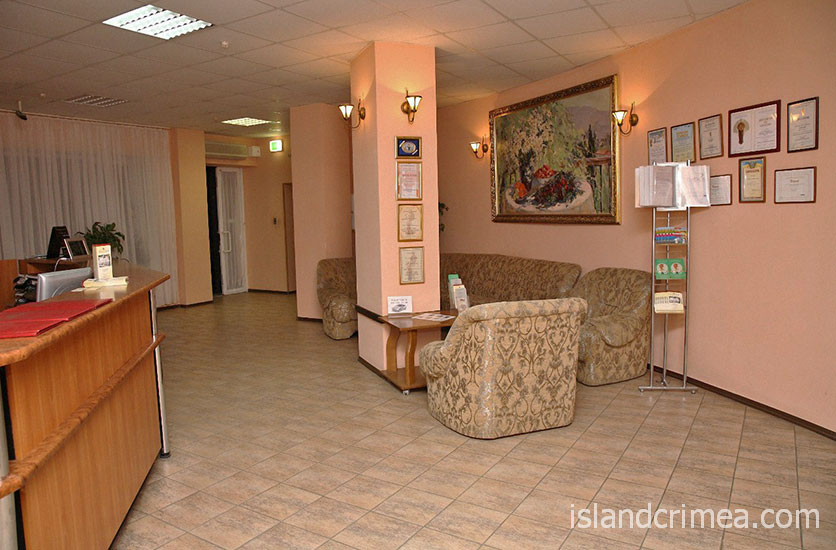 "Гостиница ""Лидия"", холл"