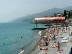 """Гостиница """"Отдых"""", пляж"""