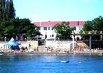 Гостиница Парус, вид с моря