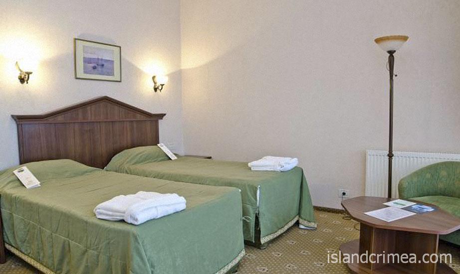 """Курорт-отель """"Пальмира-Палас"""", стандарт B плюс, раздельные кровати"""