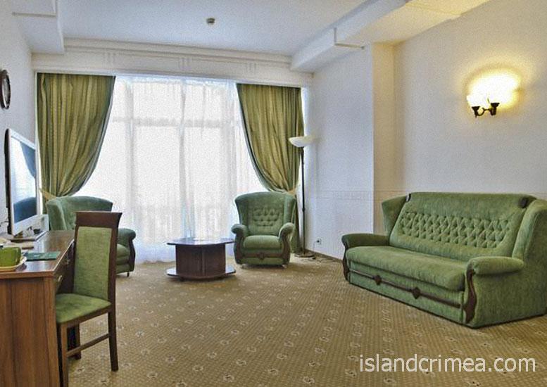 """Курорт-отель """"Пальмира-Палас"""", люкс комфорт, гостиная"""