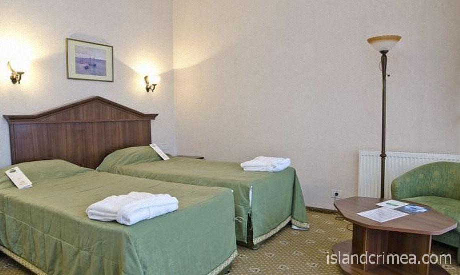 """Курорт-отель """"Пальмира-Палас"""", стандарт C, раздельные кровати"""
