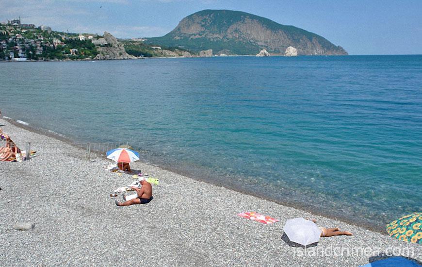 """Отель """"Веселый Хотэй"""", пляж"""