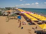 Пляж кемпинга Лазурный.