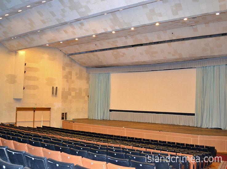 """Парк-отель """"Марат"""", киноконцертный зал."""