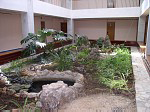 Медицинский центр Медики-Чернобылю, внутренний дворик.