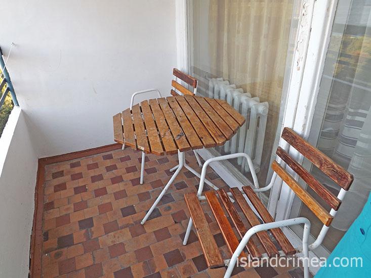 """Санаторий """"Мисхор"""", летняя мебель, 2-м стандарт, корпус 2."""