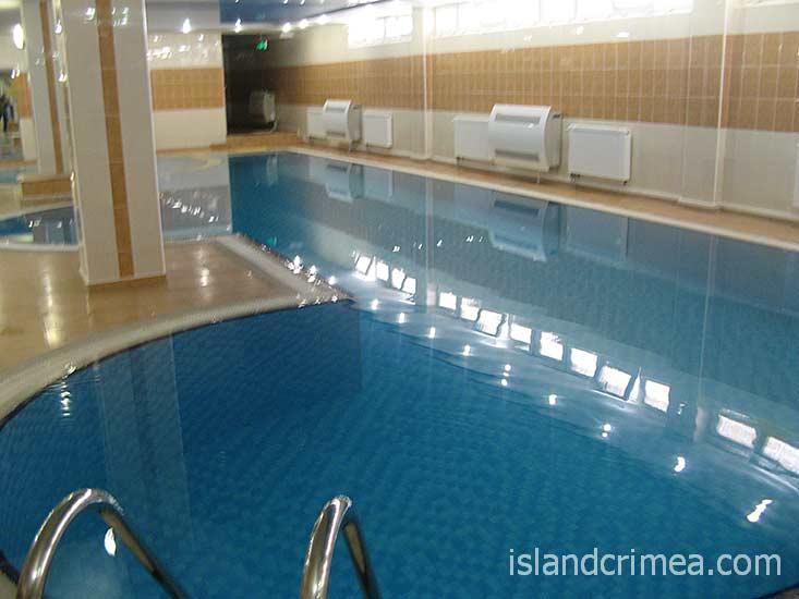 "Отель ""Норд"", крытый бассейн."
