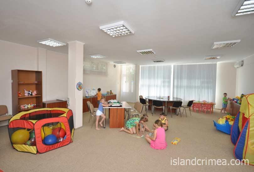 """Отель """"Норд"""", детская комната."""