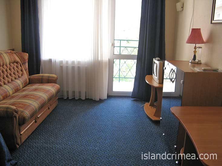 """Отель """"Норд"""", двухместный стандарт."""