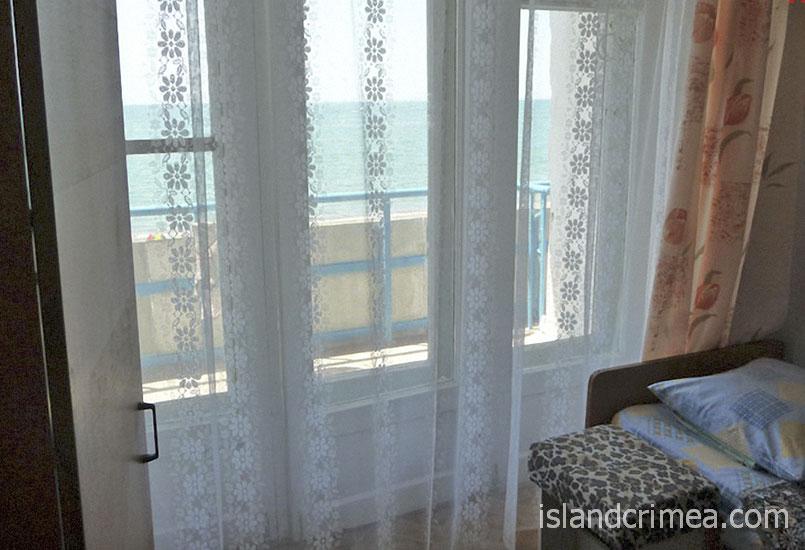"""ОК """"Парус"""", балкон с видом на море"""