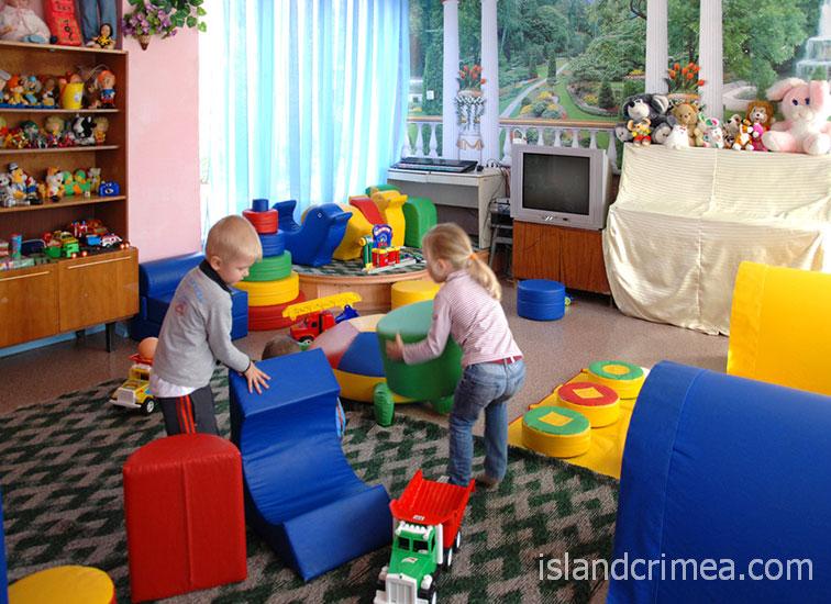 """Детская комната в ОЛЦ """"Северный"""""""