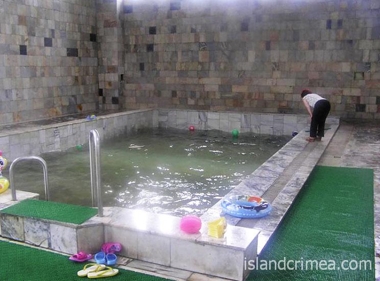 """ОЛЦ """"Северный"""", детский бассейн с термальной водой"""