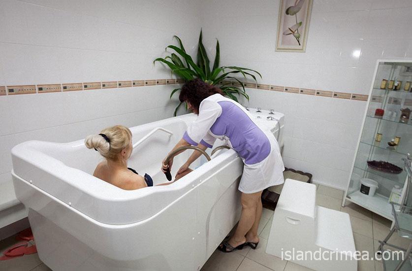 """Отель """"Атлантик"""", ванны в СПА центре"""