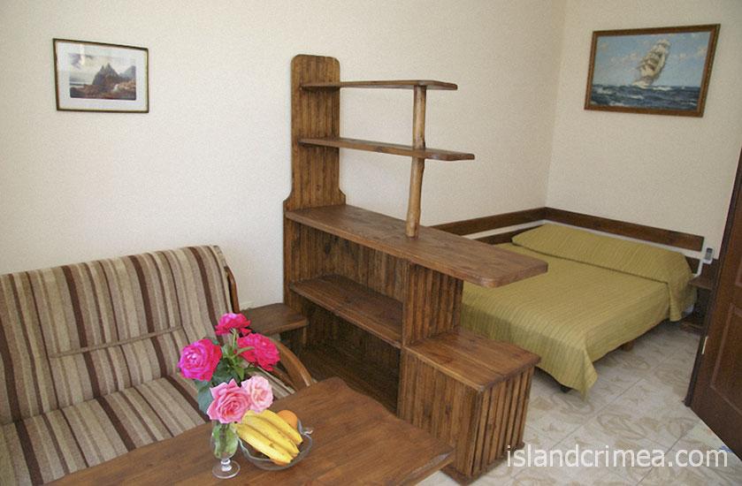 """Курортный отель """"Бастион"""", корпус 4, номер стандарт без балкона"""