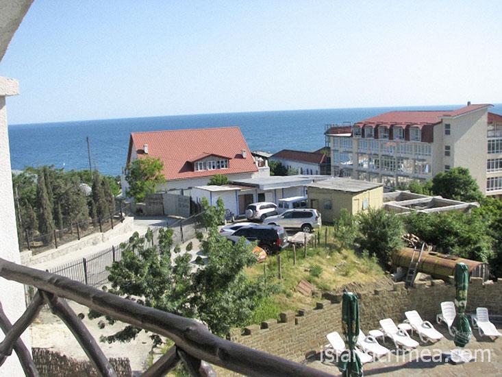 """Курортный отель """"Бастион"""", корпус 1, двухместный номер с балконом"""
