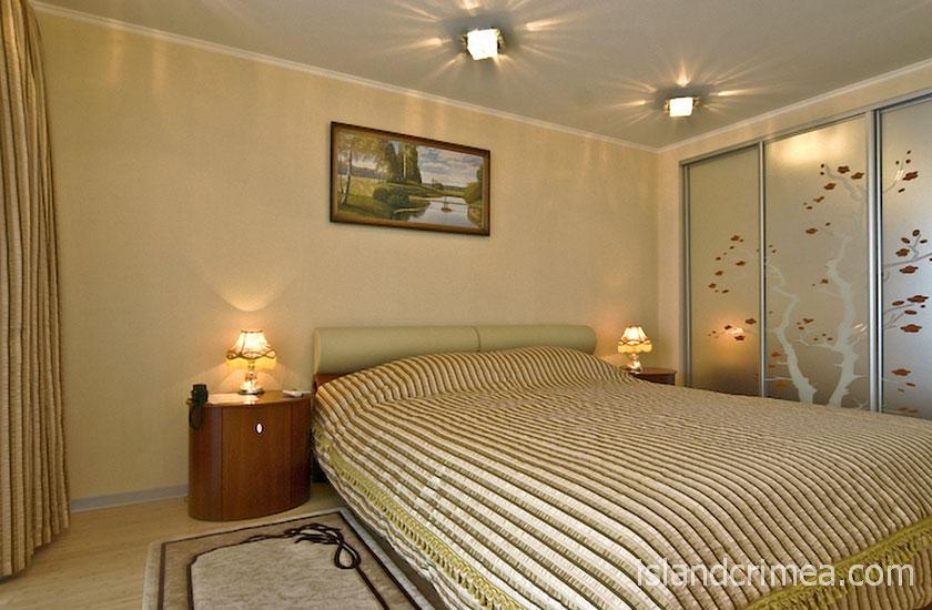 """Дайвинг-отель """"Белый грифон"""", апартаменты, спальня"""
