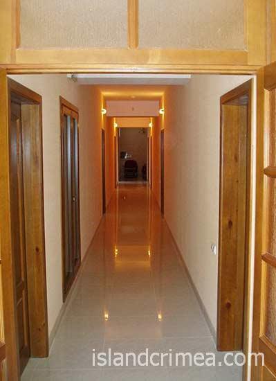 """Отель """"Бриз"""", коридор"""