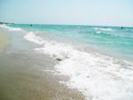 """Отель """"Лагуна"""", пляж со стороны Чёрного моря"""