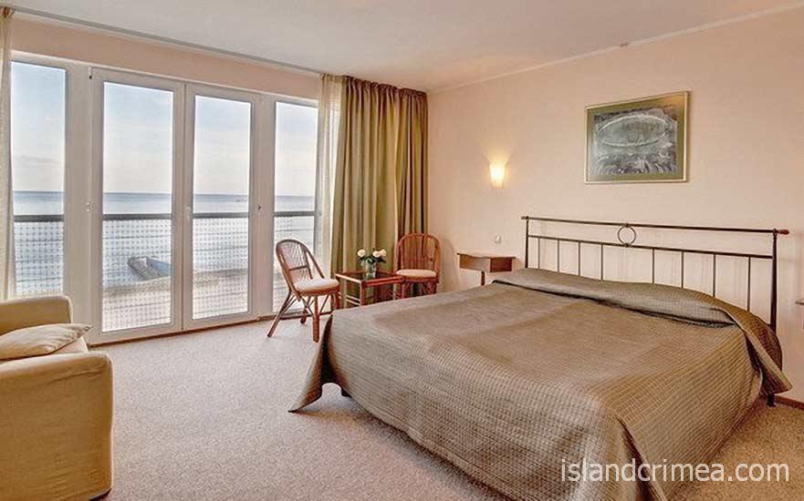 "Эко-отель ""Левант"", номер классика double, вид на море"