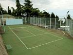 "Теннисный корт в пансионате Дружба"""