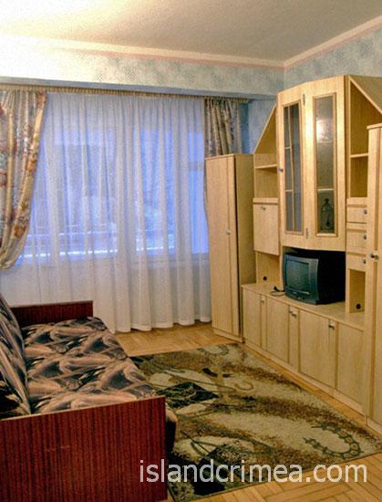 """Пансионат """"Кастрополь"""", полулюкс, гостиная"""
