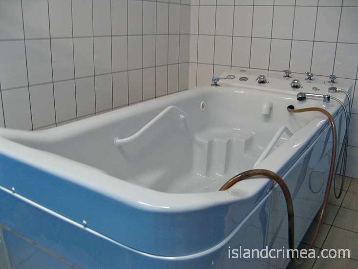"""Пансионат """"Магнолия"""", ванны."""