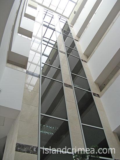 """Пансионат """"Море"""", лифт в SPA-комплексе."""