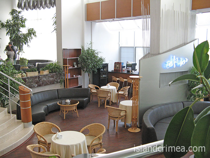 "Пансионат ""Море"", кафе-бар в SPA-комплексе."