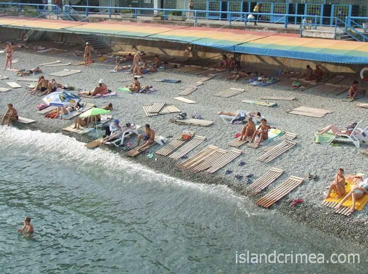 "Пляж пансионата ""Парковый"""