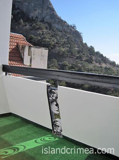 """Пансионат """"Полет"""", балкон в улучшенном номере"""