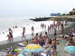 """Пансионат """"Таврида"""", пляж"""