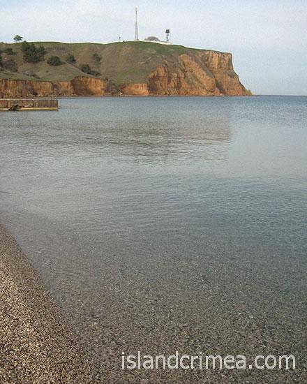 """Пансионат """"Волна-люкс"""", пляж"""
