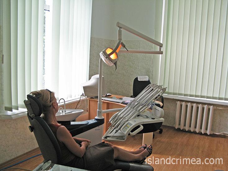 """Санаторий """"Пограничник"""", стоматологический кабинет."""