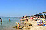 Санаторий Приморье, пляж.
