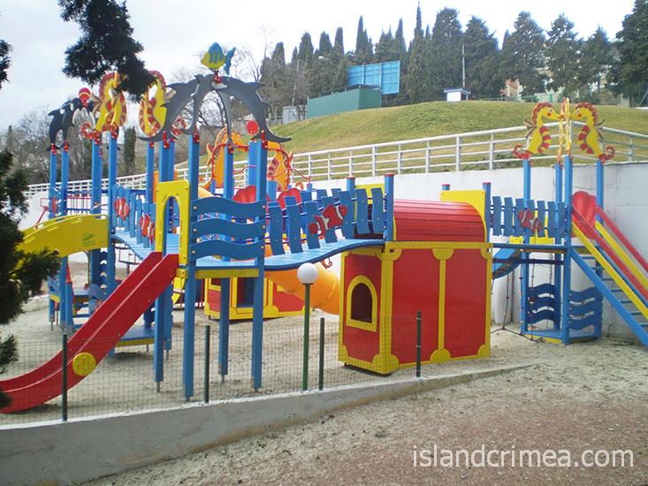 Respect Hall Resort & SPA, детская площадка