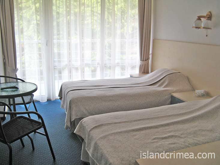 "Курортный комплекс ""Ripario Hotel Group"", номер Comfort"