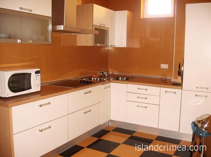"Курортный комплекс ""Ripario Hotel Group"", Apartment A, кухонный уголок"