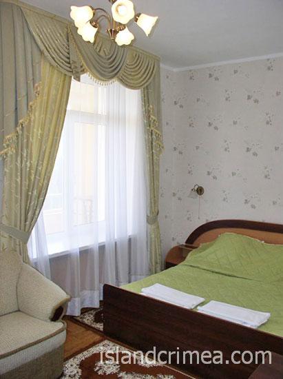 """Санаторий """"Россия"""", 2-комнатный люкс, корпус 3."""