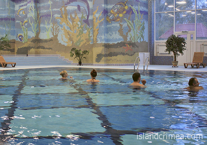 Санаторий имени Пирогова, крытый бассейн
