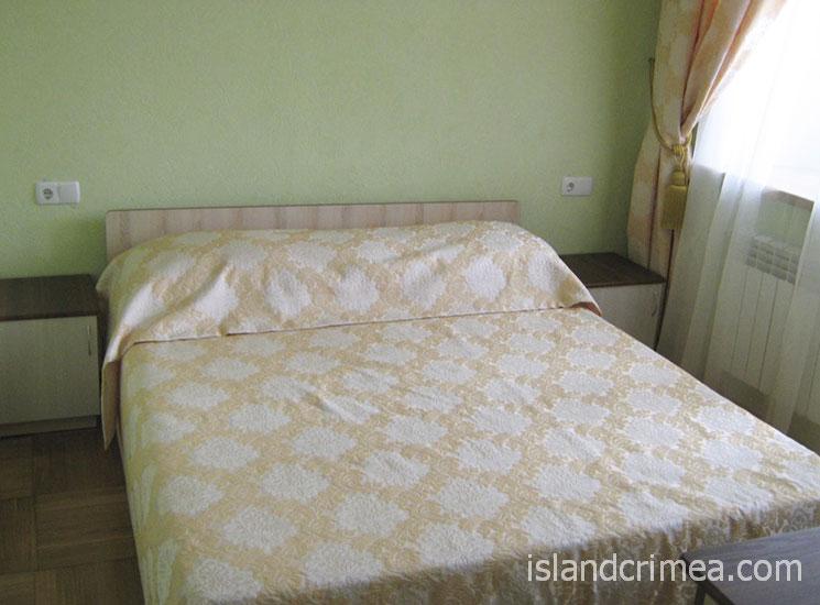 """Санаторий """"Белоруссия"""", корпус 4, джуниор сьюит, спальня"""