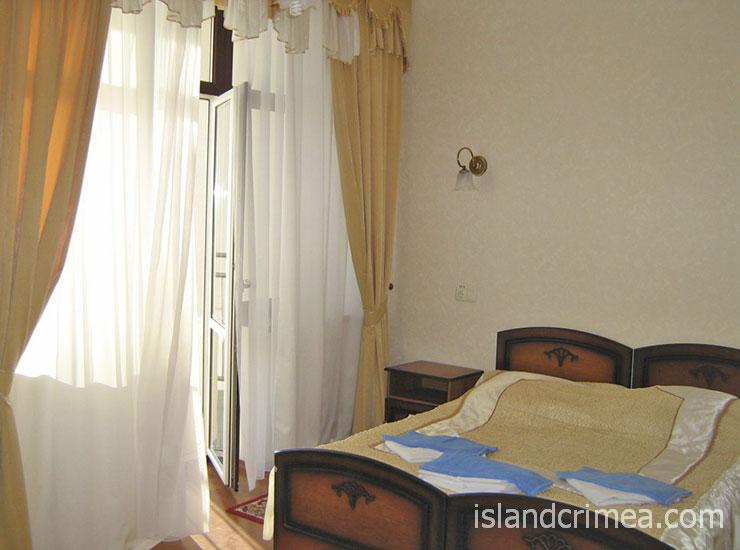 """Санаторий """"Белоруссия"""", корпус 5, 2-к. люкс большой, спальня"""
